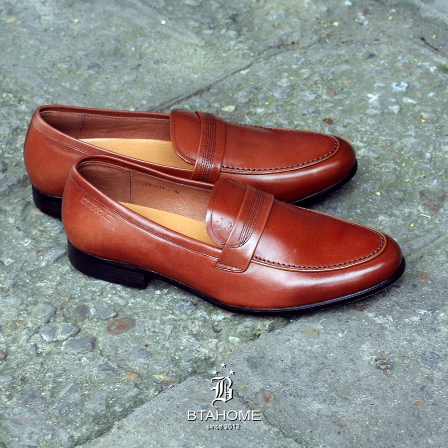 Giày Penny Loafer Btahome LX 214-2-1