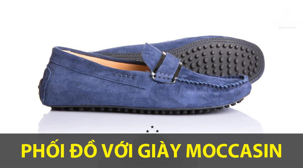 giày mọi moccasin